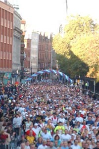 The starting line 2003